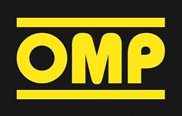 OMP Racing のロゴ レースカーパーツ racecar parts