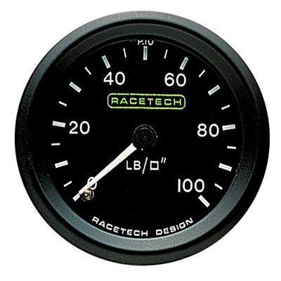 P10 Racetech レーステック 機械式 油圧ゲージ
