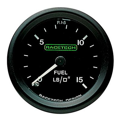 P15 Racetech レーステック 機械式 燃圧計