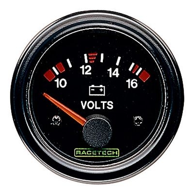 RTECVM 電気式 Racetech レーステック 電圧メーター