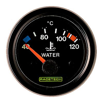 RTECW120 Racetech レーステック 電気式水温ゲージ