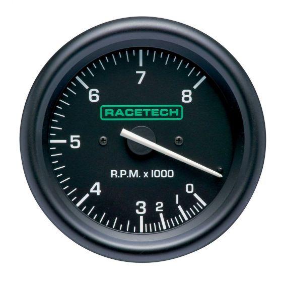 RTTC 0-8000 0-10000 0-12000 タコメーター レーステック Racetech