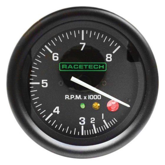 RTTCSL Racetech レーステック タコメーター シフトライト付き 0-8000 0-10000 0-12000