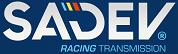Sadev サデブ シーケンシャルギアボックス トランスミッション ロゴ